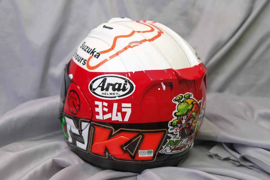 """Arai Helmet RX-7X \""""Haga \""""_f0369107_09423658.jpg"""