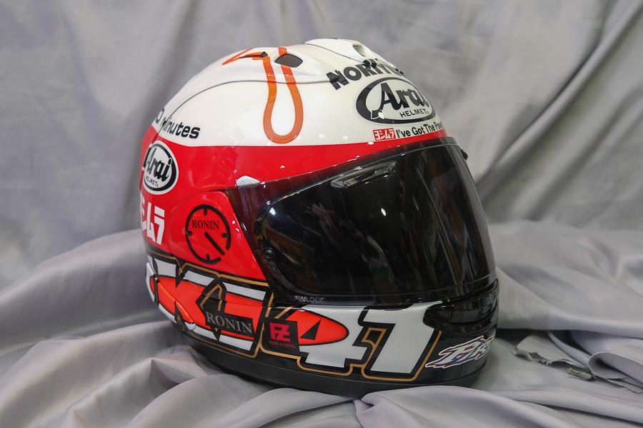 """Arai Helmet RX-7X \""""Haga \""""_f0369107_09424441.jpg"""