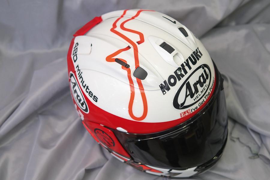 """Arai Helmet RX-7X \""""Haga \""""_f0369107_09425293.jpg"""