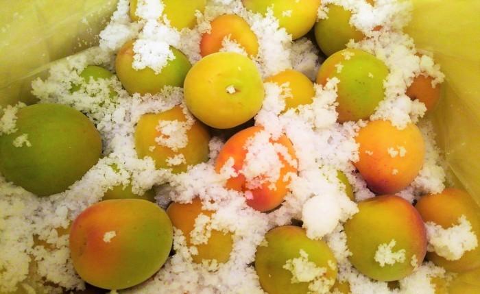 ■自家製保存食【今年も恒例の梅干し漬けを仕込みました。①】_b0033423_19541718.jpg