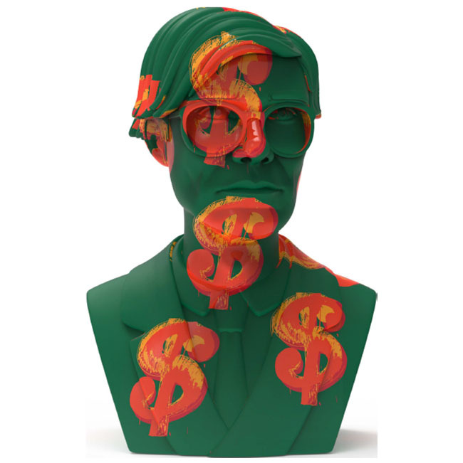 "Andy Warhol 12"" Bust- Dollar Sign_e0118156_12390840.jpg"
