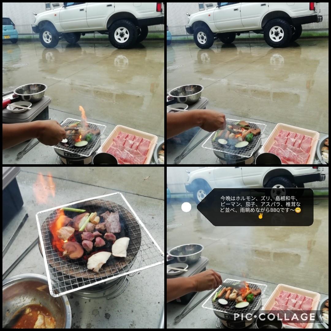 雨の日 BBQ_b0235586_09123018.jpg