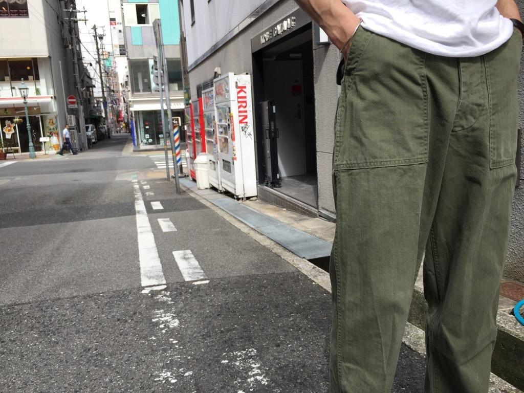 マグネッツ神戸店 夏を代表するミリタリーファブリック、H.B.T.!_c0078587_09530809.jpg