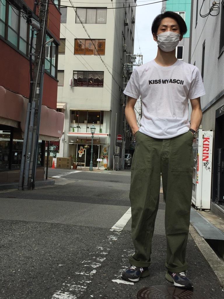 マグネッツ神戸店 夏を代表するミリタリーファブリック、H.B.T.!_c0078587_09530832.jpg