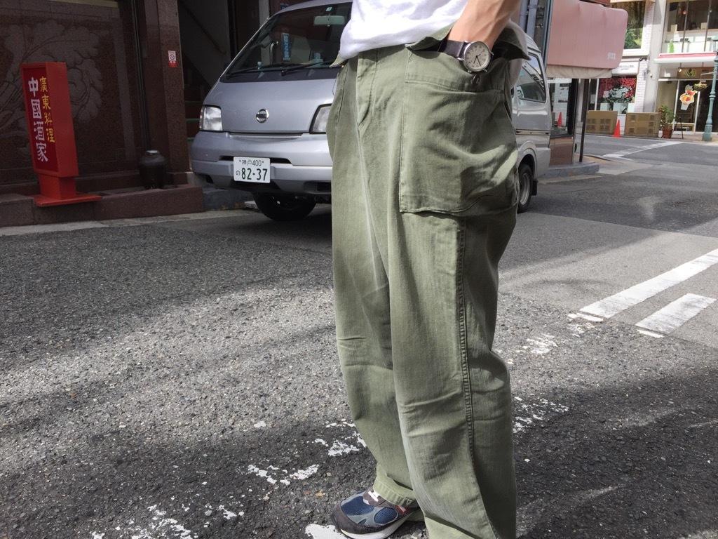 マグネッツ神戸店 夏を代表するミリタリーファブリック、H.B.T.!_c0078587_09540166.jpg