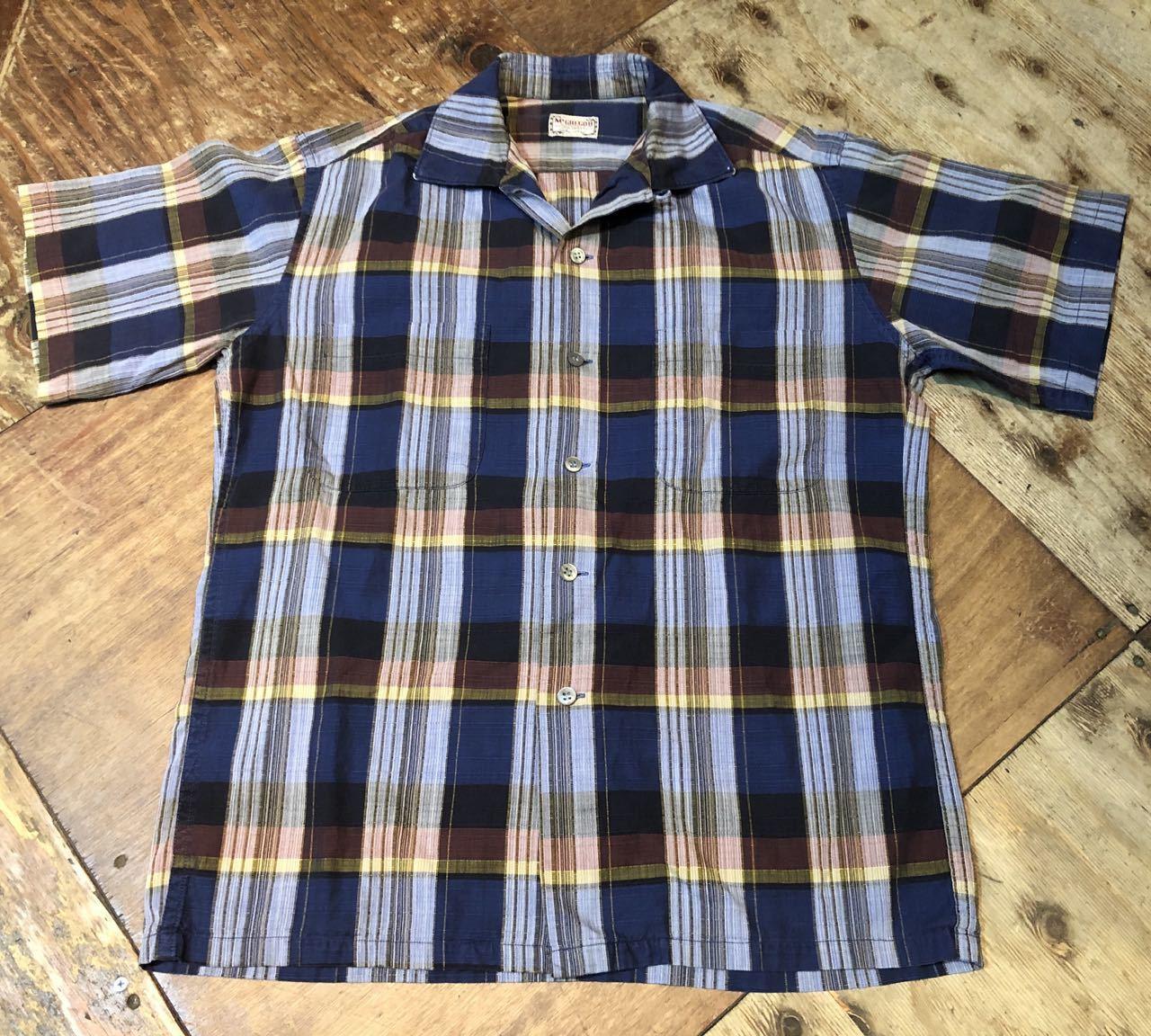 6月21日(日)入荷! 60s Mc Gregor マクレガー ボックス オープンカラーシャツ!_c0144020_12301030.jpg