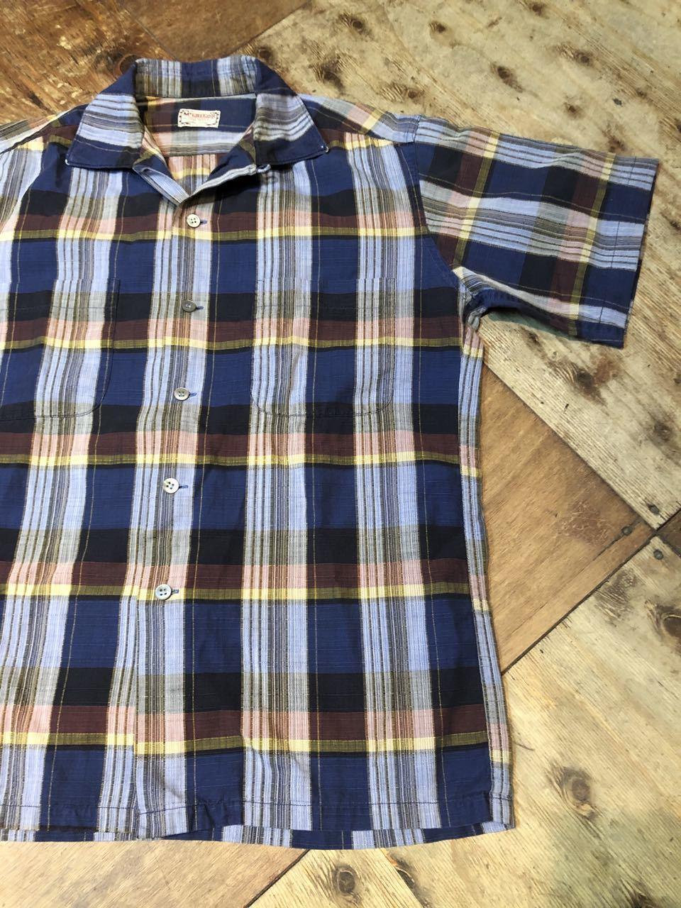 6月21日(日)入荷! 60s Mc Gregor マクレガー ボックス オープンカラーシャツ!_c0144020_12301885.jpg