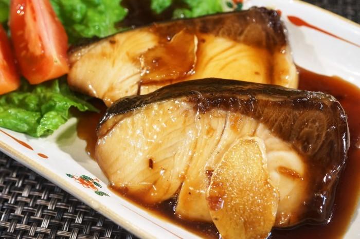 ■和食【簡単5分で ブリの照り焼き・甘辛バター 】濃厚な味わいです♪_b0033423_23500720.jpg
