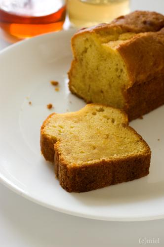 Cake au gingembre et au miel ハニージンジャーケーキ_f0147145_15535649.jpg