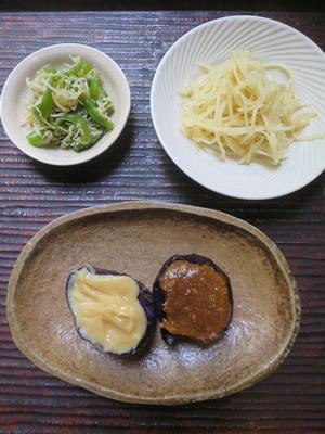 茸ご飯とおばんざい_e0262651_18334562.jpg
