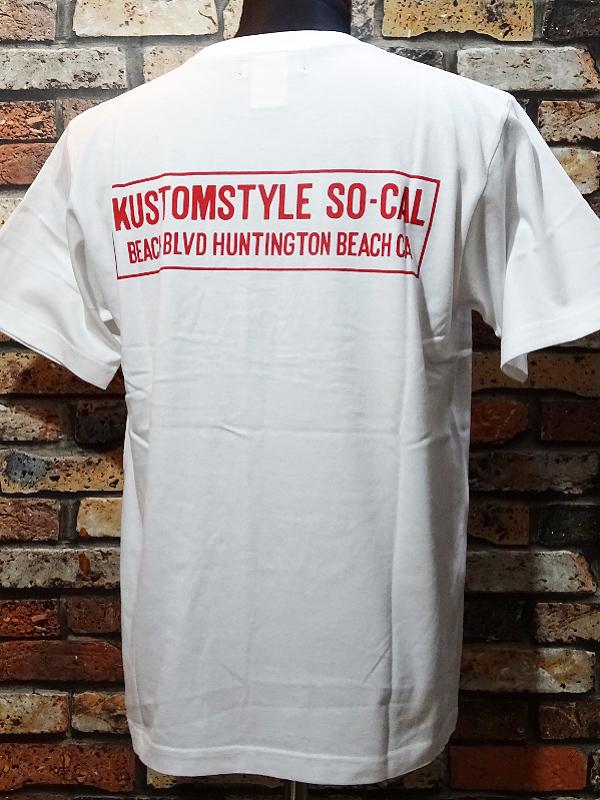 kustomstyle カスタムスタイル 新作Tシャツ 8種入荷_c0094761_09574002.jpg