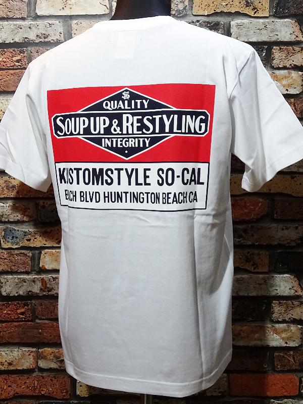 kustomstyle カスタムスタイル 新作Tシャツ 8種入荷_c0094761_09575948.jpg
