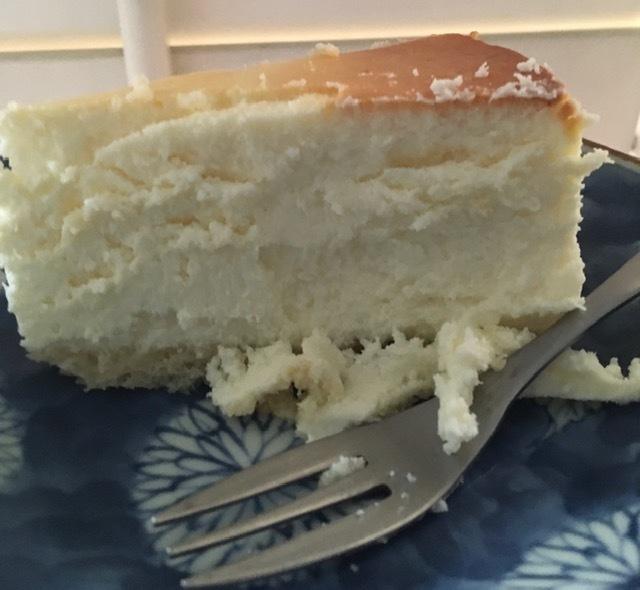 父の日のプレゼントージュニアのチーズケーキ_e0350971_05212635.jpg