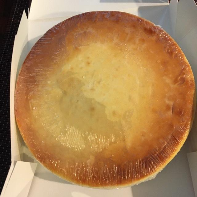 父の日のプレゼントージュニアのチーズケーキ_e0350971_09440718.jpg