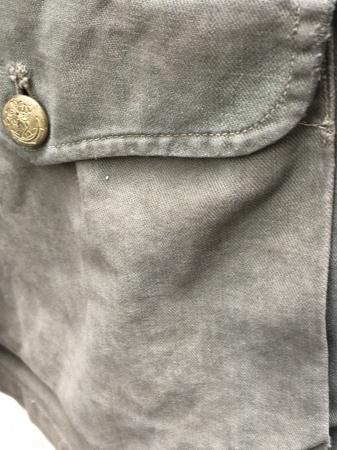 海軍兵曹長陸戦被服上衣・昭和15年改正の褐青色。_a0154482_13464641.jpg