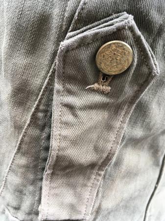 海軍兵曹長陸戦被服上衣・昭和15年改正の褐青色。_a0154482_13465491.jpg