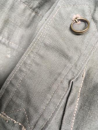 海軍兵曹長陸戦被服上衣・昭和15年改正の褐青色。_a0154482_13480415.jpg