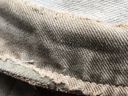 海軍兵曹長陸戦被服上衣・昭和15年改正の褐青色。_a0154482_13481107.jpg