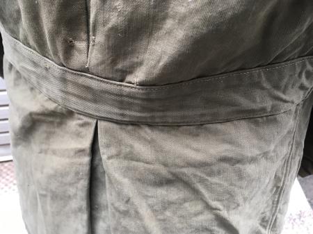 海軍兵曹長陸戦被服上衣・昭和15年改正の褐青色。_a0154482_13483940.jpg