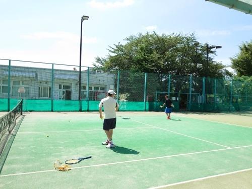 「縁起の良き日テニス」_a0075684_08530050.jpg