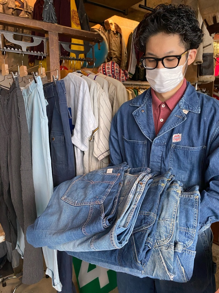 6月24日(水)大阪店ヴィンテージ入荷日!! #1 Work Part1編!! Carhartt HeartMark & BIG SMITH Engineer、Lee HouseMark 98-SB!_c0078587_14152182.jpg