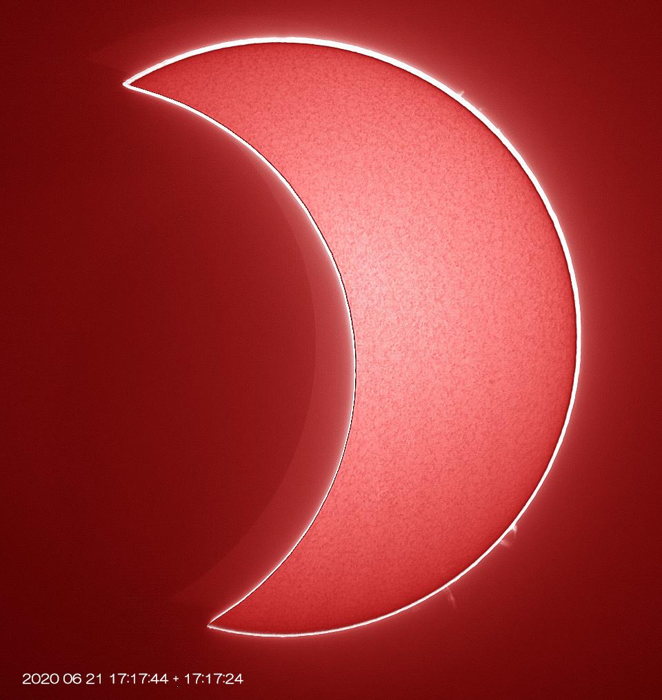 6月21日の太陽 部分日食_e0174091_22522925.jpg