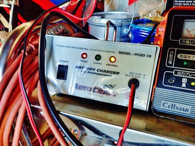 SR400 2年半の放置で流石にバッテリーが・・・_c0336902_20193806.jpg