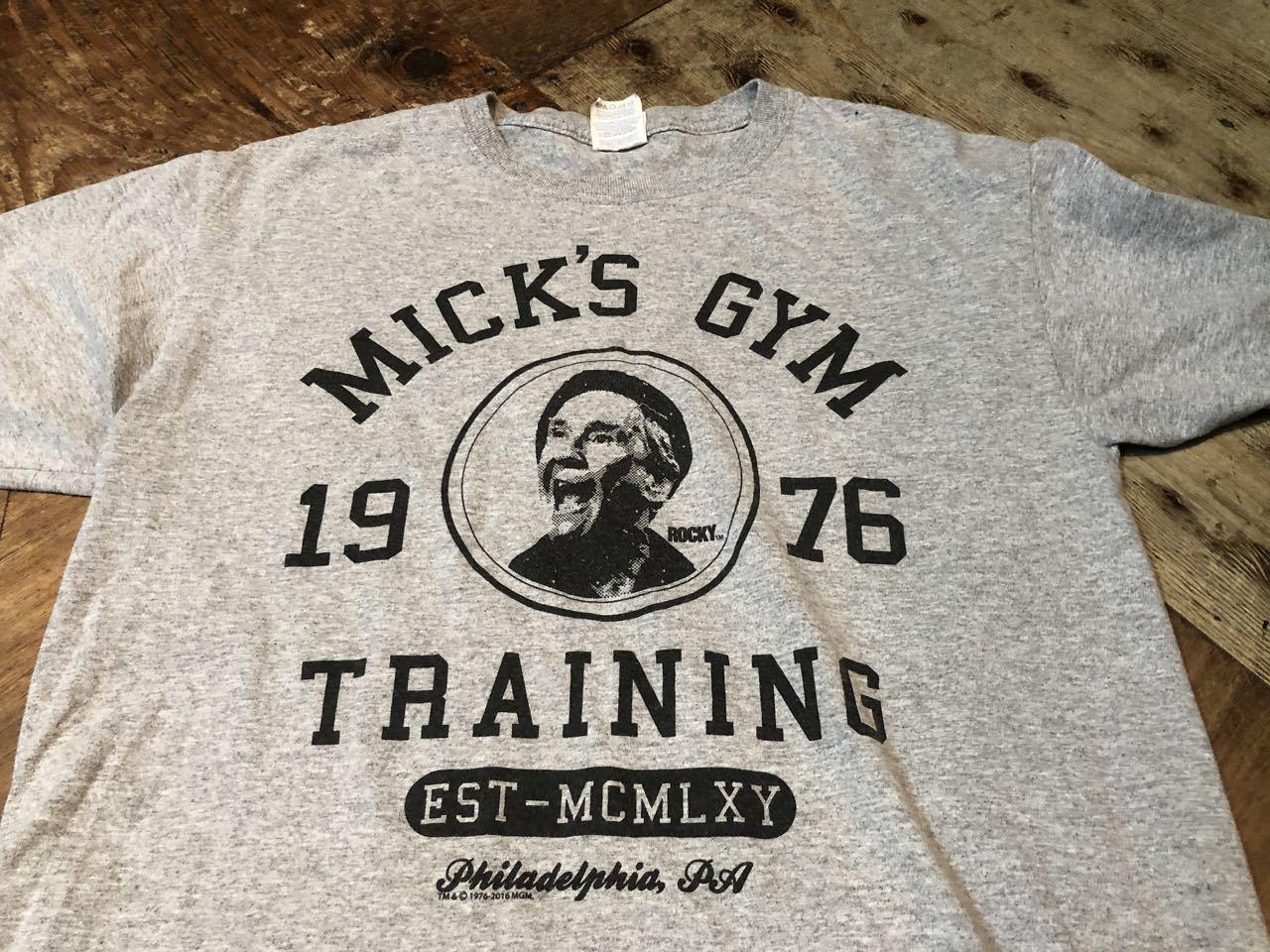 6月22日(月)入荷!映画 ROCKY MICK\'S GYM Tシャツ!_c0144020_12352578.jpg