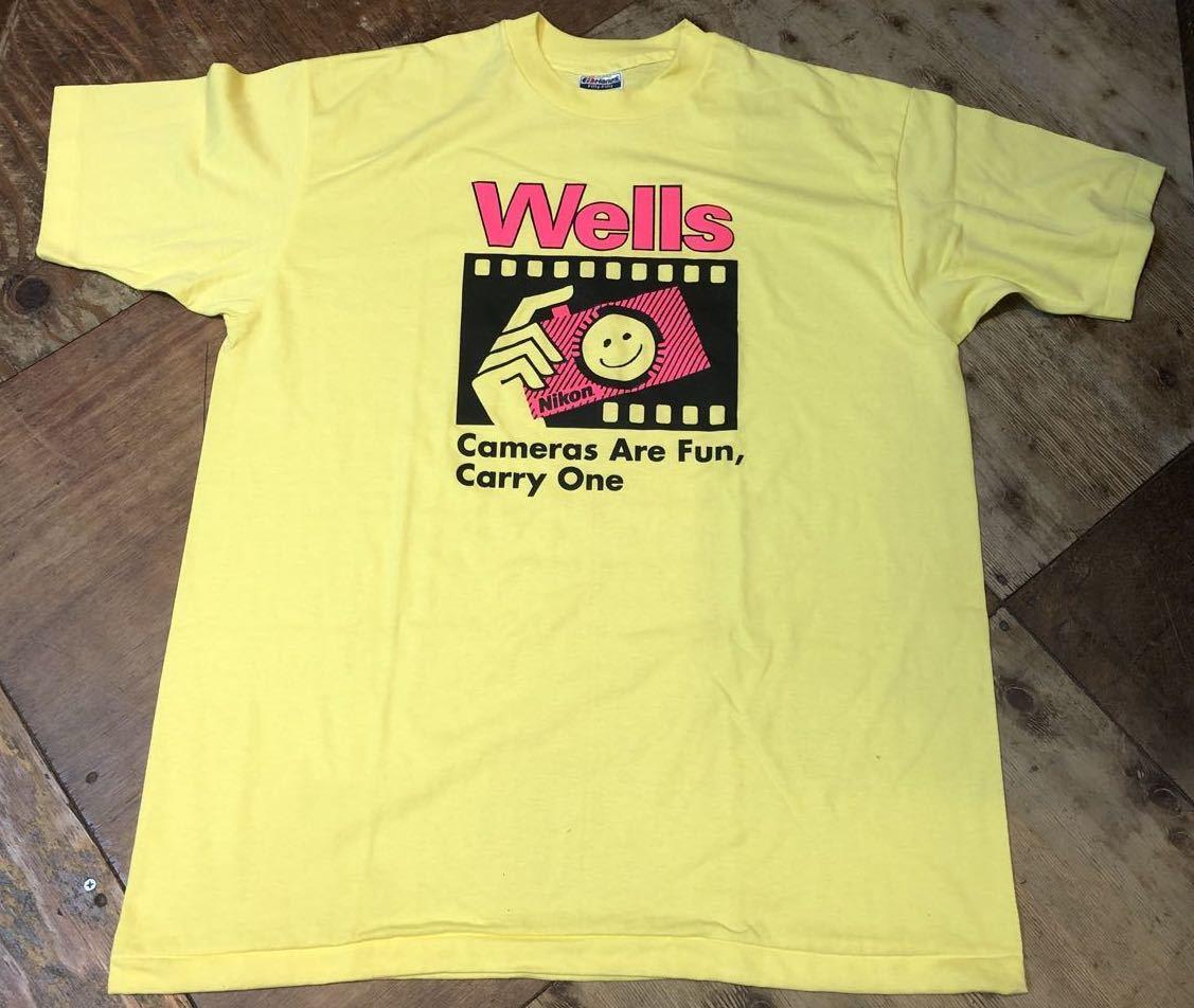 6月22日(月)入荷!デッドストック!!MADE IN U.S.A  90s NIKON ニコン Tシャツ!_c0144020_12442017.jpg