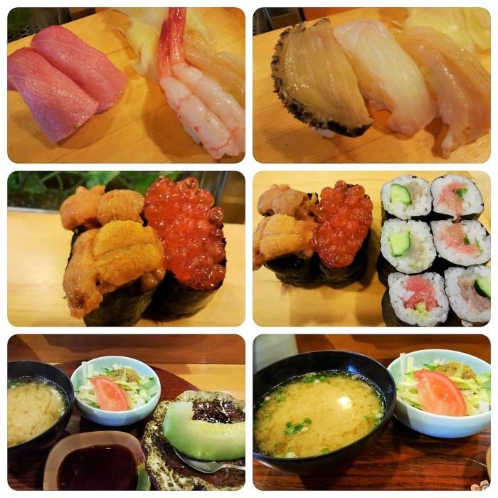 ■グルメランチ【松泉さんの特上寿司/香林さんの冷やし中華】_b0033423_21015751.jpg