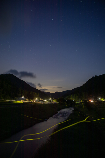 星と蛍と_e0311229_22324110.jpg