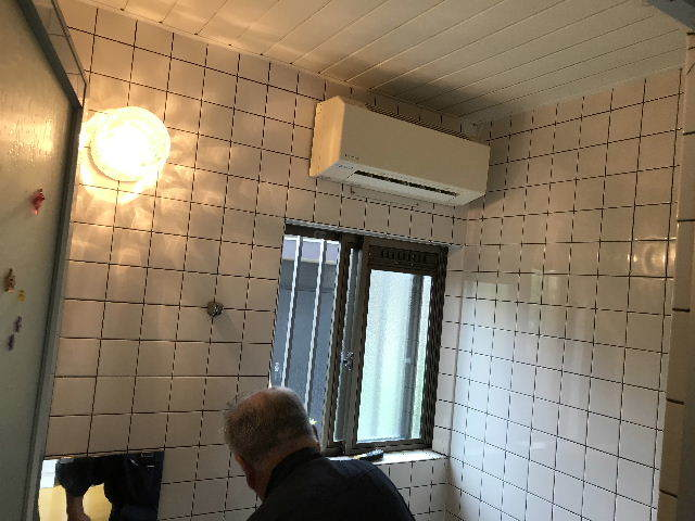 土嚢袋100袋超えの浴室解体_f0031037_19315274.jpg