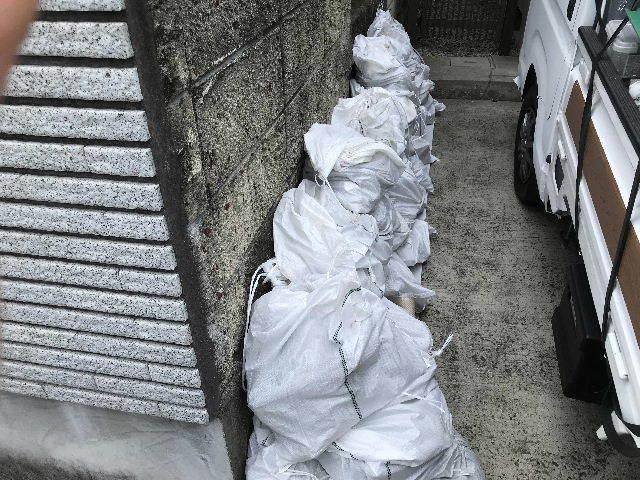 土嚢袋100袋超えの浴室解体_f0031037_19320923.jpg