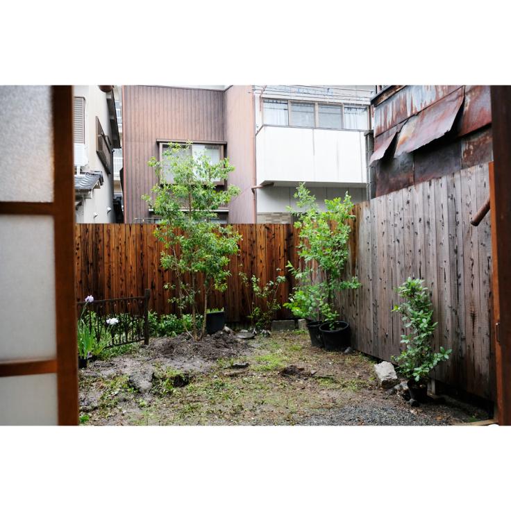わが家の庭づくり。1日目2日目のようす。_d0227246_11174662.jpg