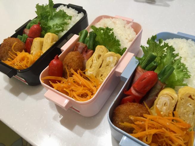 もらった野菜弁当☆_f0183846_10590166.jpg