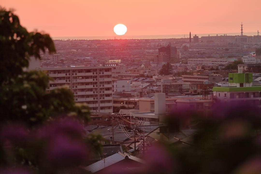 夏至の夕陽_e0403850_10252526.jpg