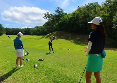 第38回 梶岡建設ジュニアゴルフ月例競技会_f0151251_15435249.jpg