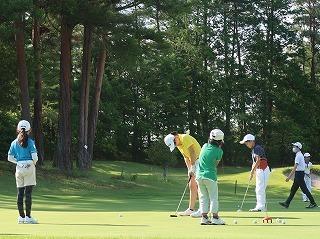 第38回 梶岡建設ジュニアゴルフ月例競技会_f0151251_15555449.jpg
