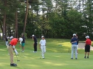 第38回 梶岡建設ジュニアゴルフ月例競技会_f0151251_15555491.jpg