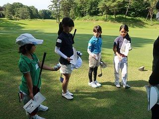 第38回 梶岡建設ジュニアゴルフ月例競技会_f0151251_15555506.jpg