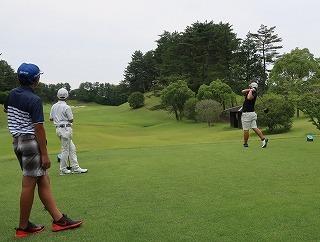 第38回 梶岡建設ジュニアゴルフ月例競技会_f0151251_15555514.jpg