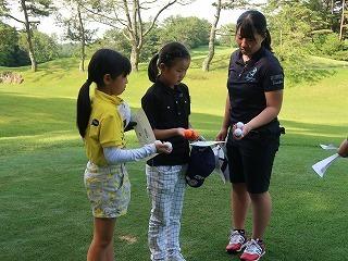 第38回 梶岡建設ジュニアゴルフ月例競技会_f0151251_15555599.jpg