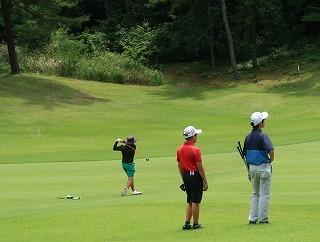 第38回 梶岡建設ジュニアゴルフ月例競技会_f0151251_15560623.jpg