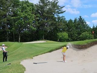 第38回 梶岡建設ジュニアゴルフ月例競技会_f0151251_15560679.jpg