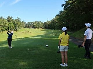第38回 梶岡建設ジュニアゴルフ月例競技会_f0151251_15560753.jpg