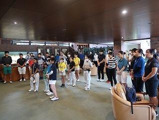 第38回 梶岡建設ジュニアゴルフ月例競技会_f0151251_15570607.jpg