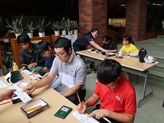 第38回 梶岡建設ジュニアゴルフ月例競技会_f0151251_15570694.jpg