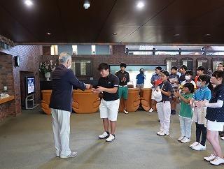 第38回 梶岡建設ジュニアゴルフ月例競技会_f0151251_15570742.jpg