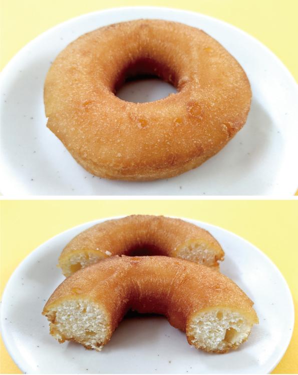 【袋ドーナツ】丸中製菓「特選牛乳ミルクドーナツ」【もくもく】_d0272182_16470850.jpg