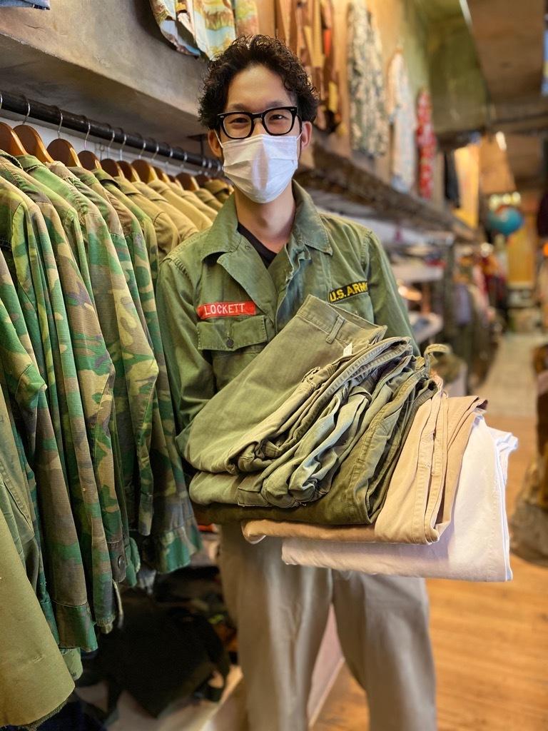 6月24日(水)大阪店ヴィンテージ入荷日!! #3 U.S.Army編!! Prisoner of War,KhakiHat,50s Champion & DenimBarrack!!_c0078587_16381424.jpg